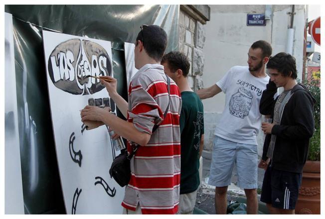 Oouverture du festival: live painting