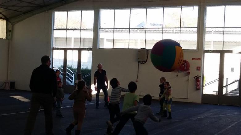jeux sportifs et coopératifs
