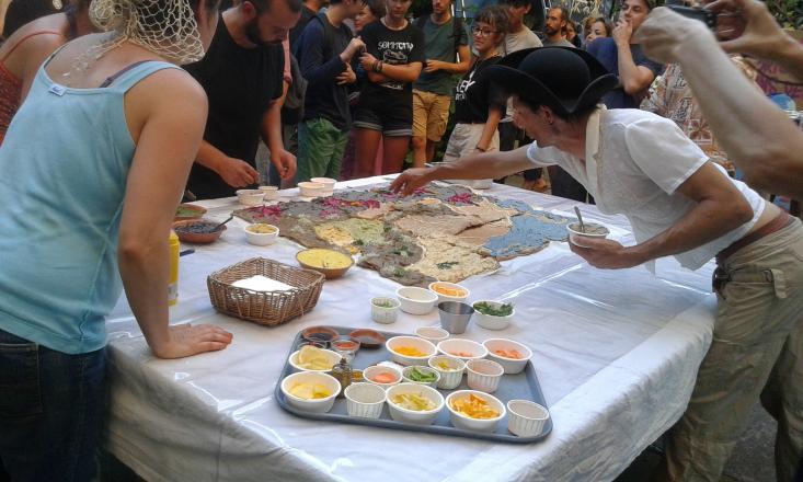 Cloture du festival: Création d'un gateau comestible