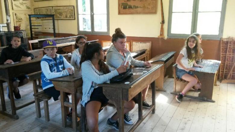 Le Bournat, une salle de classe