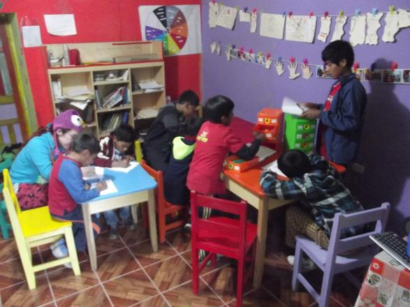 la casa de la curiosidad (Pérou)