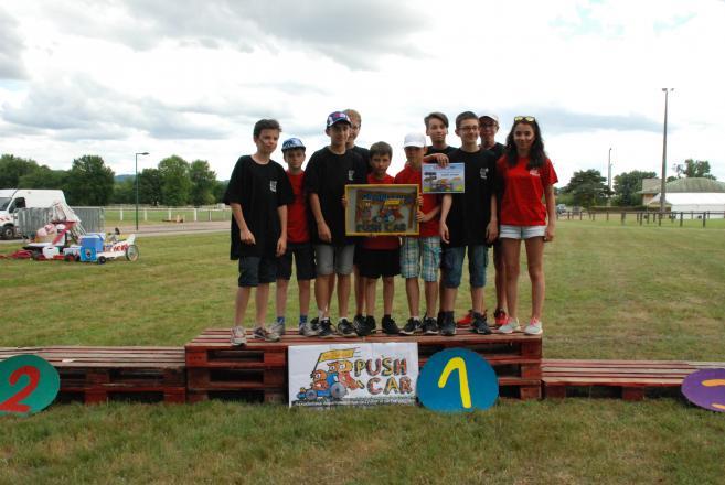 victoire du carnet de bord de l'équipe de CEBAZAT