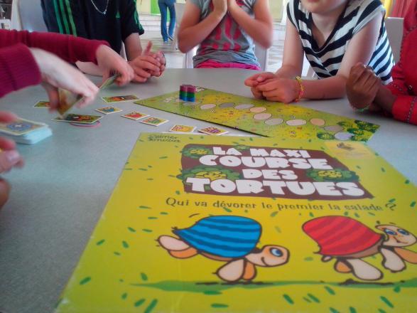 Atelier découverte jeu de plateau : la maxi course des tortues