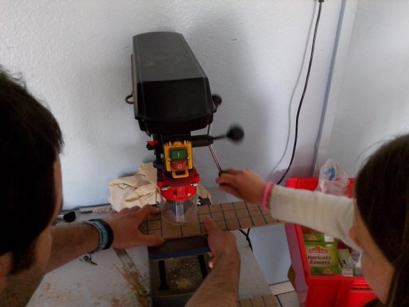 Création du jeu traditionnel le pachisi