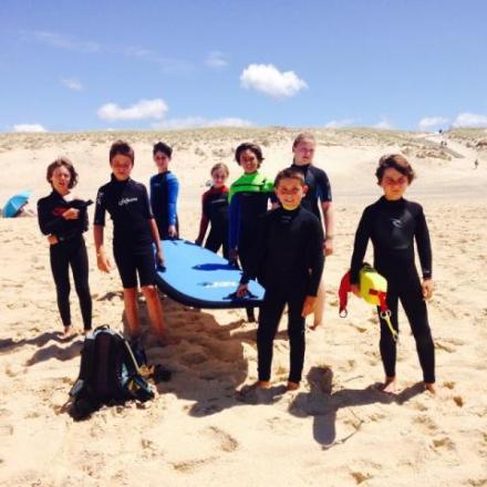 Surf au cap Ferret