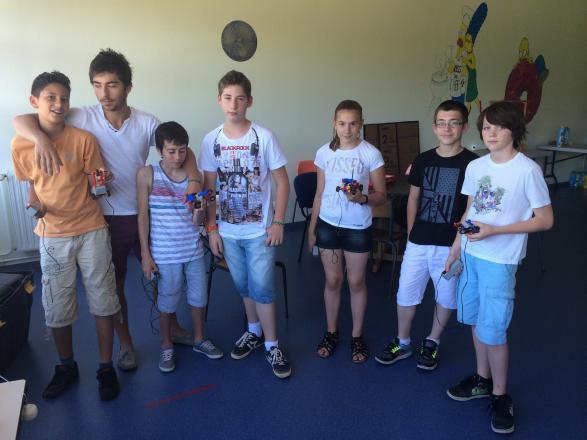 Les participants au stage de Riom