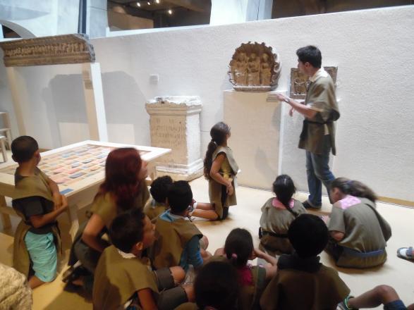 au musée gallo-romain
