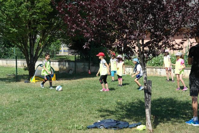 Il y a du foot même aux Franc'Olympiades