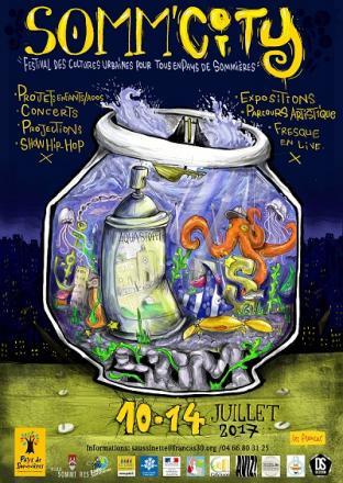 Affiche du festival Somm'city