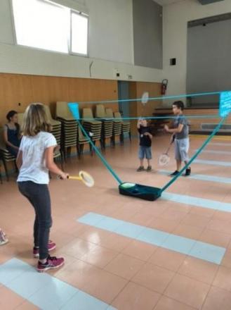 badminton pour les grands