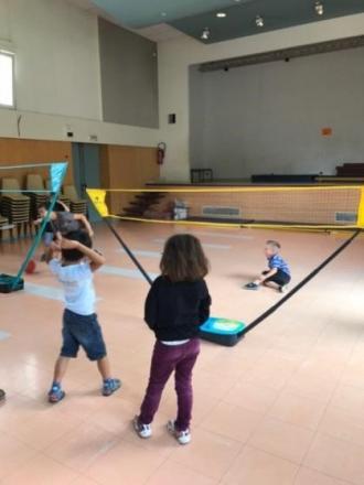 badminton pour les petits