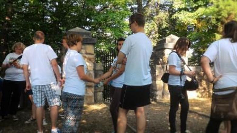 Chantier au cimetière militaire de Gorlice