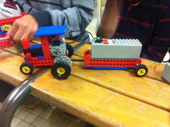 Un autre modèle de véhicule