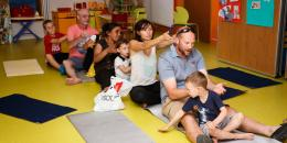 atelier massage parents / enfants