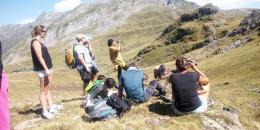 Observation des marmottes en famille- Vallée d'OSSAU