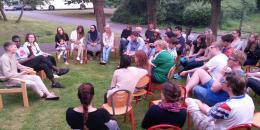 """Les jeunes parlent aux jeunes, """"notre vision  de la paix, de l'Europe"""""""