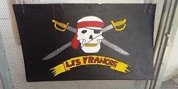 La bannière des Pirates-Francas